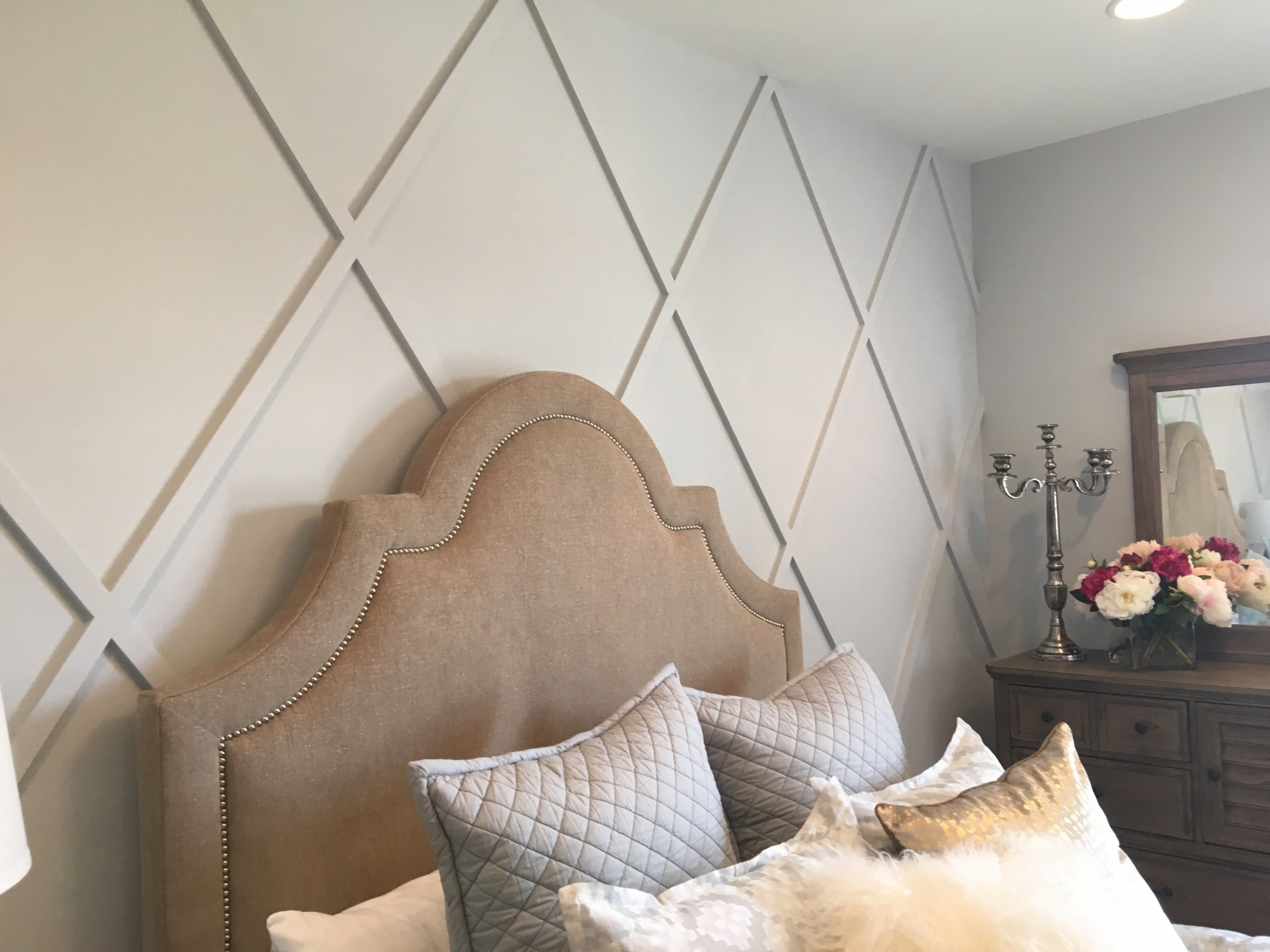 1x2 diagonal pattern wall